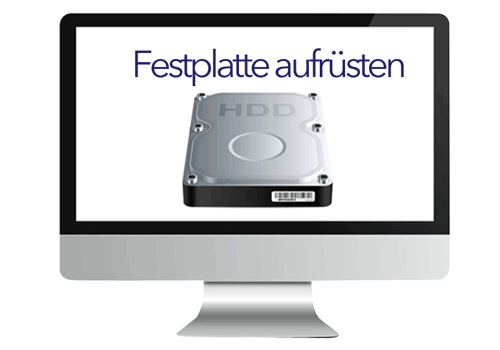 iMac Festplatte & SSHD Aufrüstung & Austausch (2006-2016)