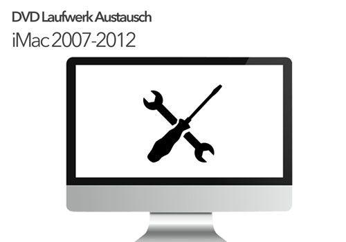 iMac DVD Superdrive Reparatur Austausch A1224 A1225 A1311 A1312