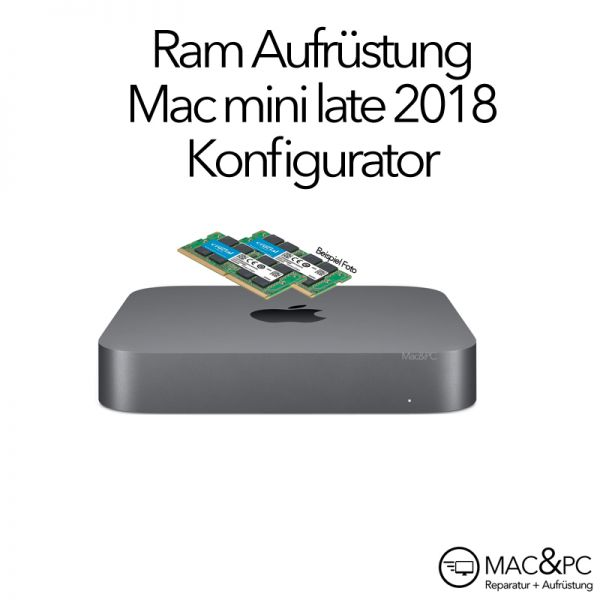 Arbeitsspeicher Aufrüstung Mac mini Late 2018