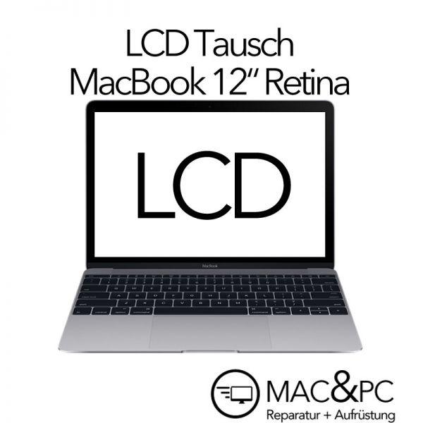 """LCD Reparatur-Austausch MacBook 12"""" Retina A1534"""