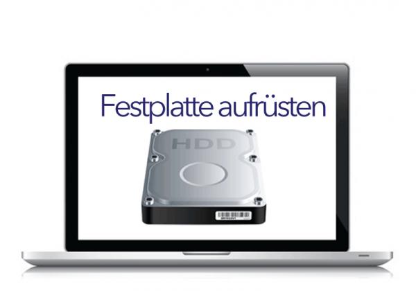 Festplatte & SSHD Aufrüsten & Tauschen MacBook Pro (Unibody)