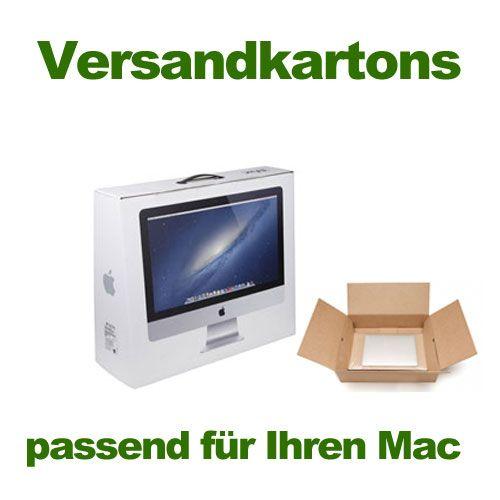 Miet - Versand-Karton / original Verpackung OVP für iMac Modelle (nur für Reparatur/Upgrade bei uns!