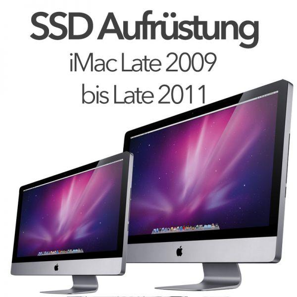 "iMac Late 2009 - Late 2011 21""/27"" SSD Aufrüstung Samsung / CRUCIAL"