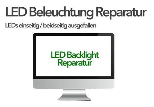 iMac LED Backlight Reparatur: LEDs auf einer Seite ausgefallen / dunkel