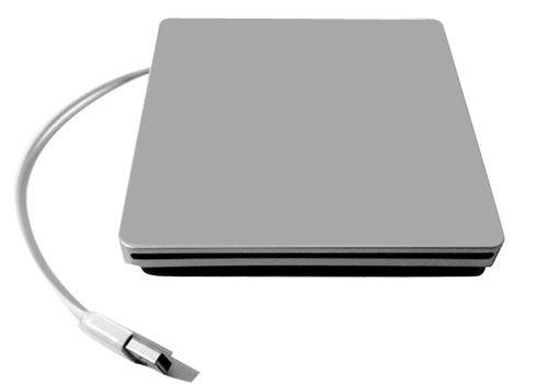 USB 2.0 S-ATA DVD Gehäuse für Ihr ausgebautes SuperDrive Ihres iMac / MacBook Pro
