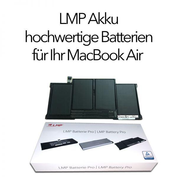 """LMP Batterie MacBook Air 11"""" 1. Generation A1375 (hergestellt 10/10-07/11)"""